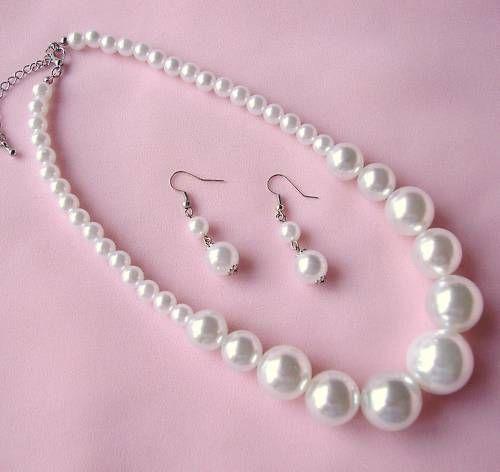 Луксозни бижута за жени.Бижута от перли.Бижута с перли