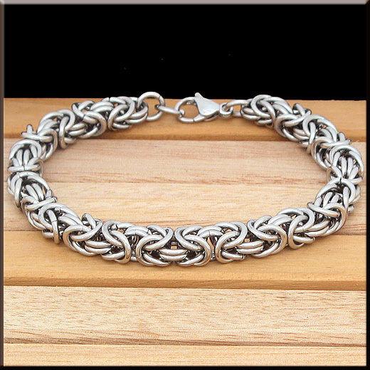 Гривна-кралска сребърна плетка 16