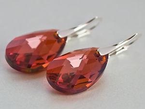 Обеци от кристали-бижута от Сваросвки елементи