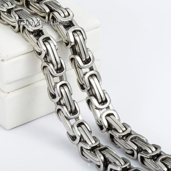 Ланец и гривна от стомана+гаранционна карта