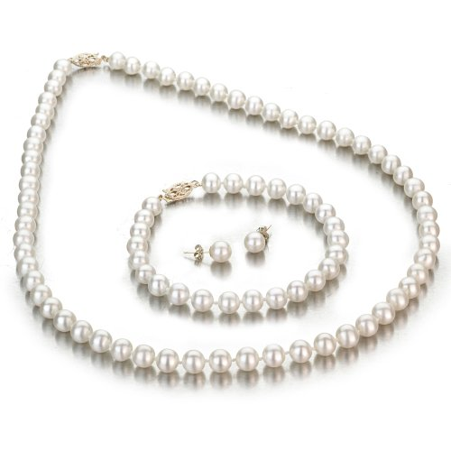 Колиета от естествени перли