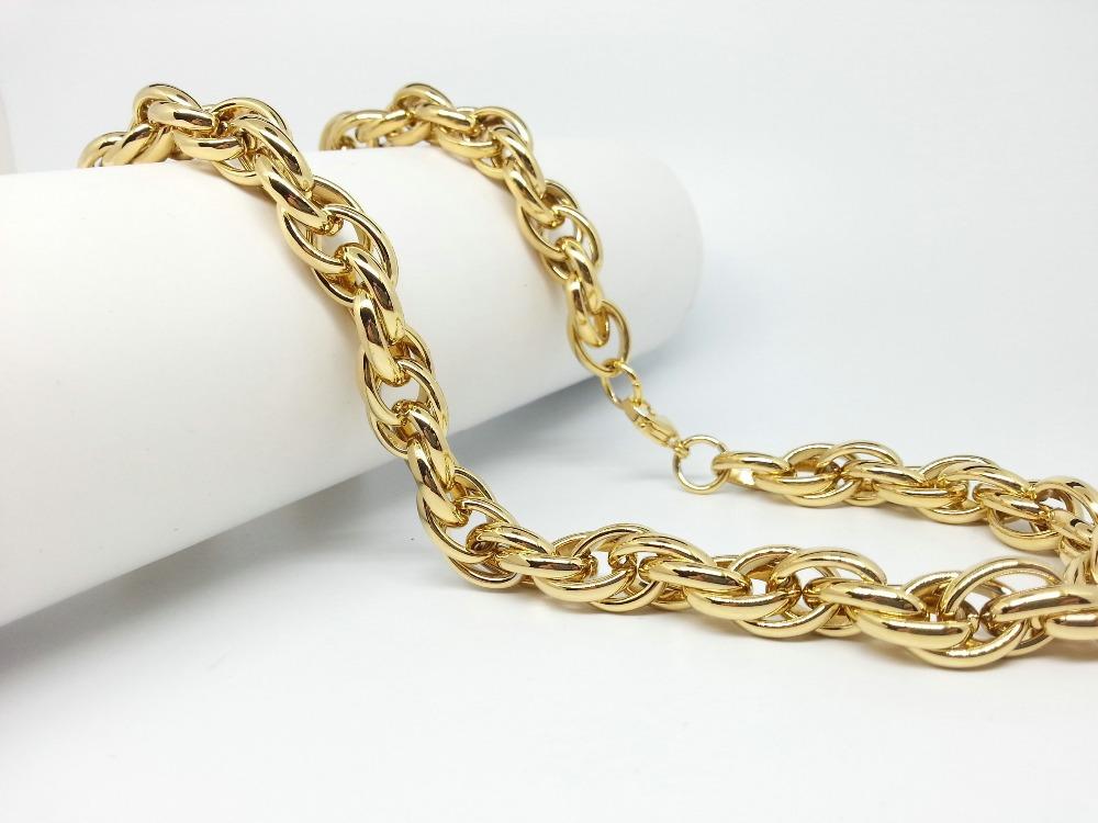 Ланец уникат от нертъждаема стомана-бижута за мъже