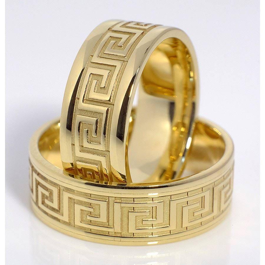 Романтичен сет пръстени за него и нея 2 БРОЯ от висококачествена неръждаема стомана