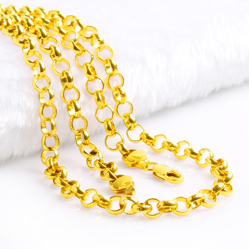 Gold Necklace For Men Cheap.Gold Angel Necklace. Jewelry Gold ...