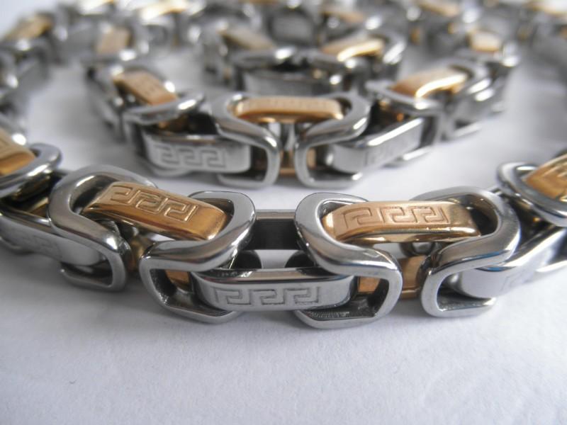 Ланец от стомана код-К115-бижута