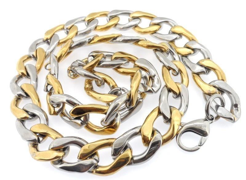 Ланец от стомана бижута 33-200грама