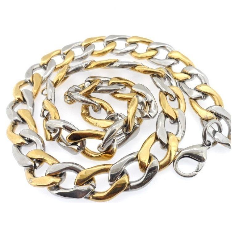 Ланец от стомана-масивен уникален ланец-уникална плетка