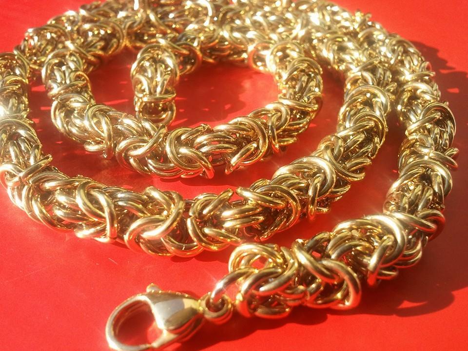 Дамски ланец от стомана бижута 4