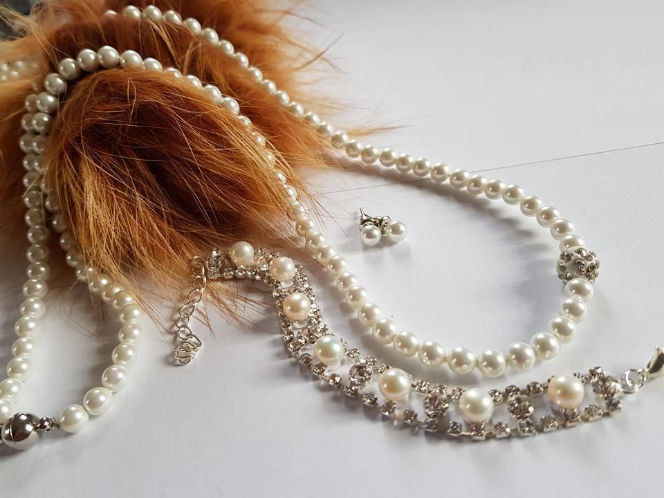 Комплекти от естествени сладководни перли