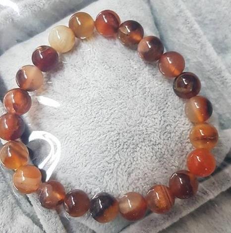 Гривни от естествени камъни. АХАТ - камъкът на Равновесието със сертификат и гаранция