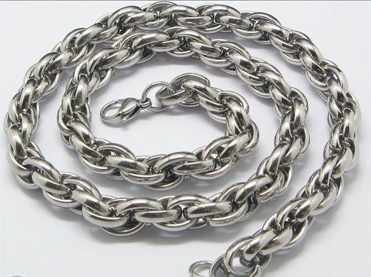 Бижута-ланец от стомана