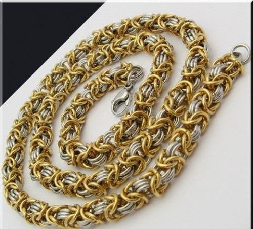 Ланец за мъже и за жени от стомана