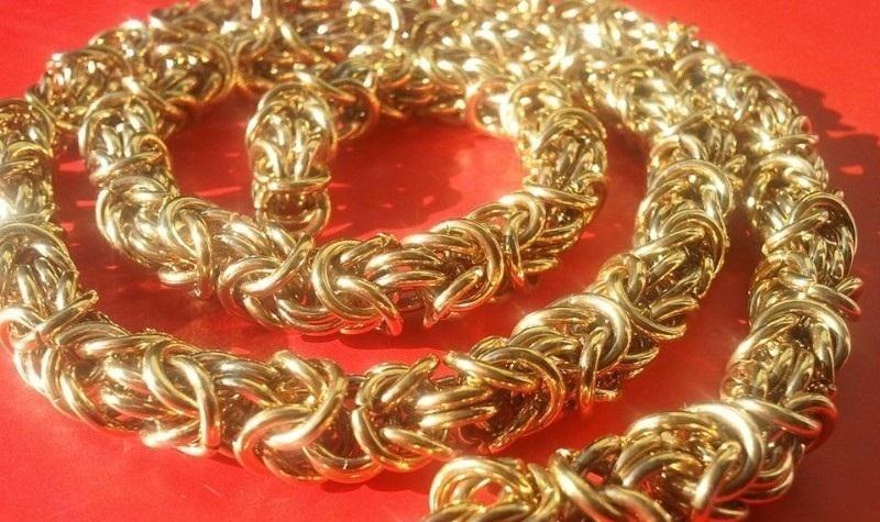 Ланец от стомана Уникат -бижута