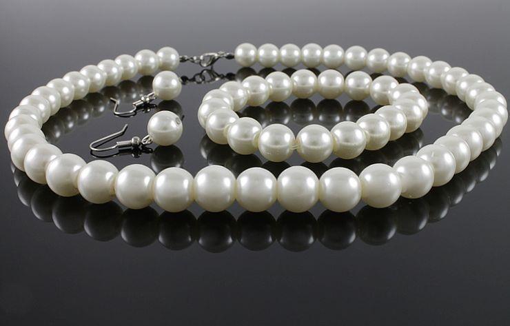 Бижута за сватба.Бижута от естествени перли от о-в МАЙОРКА