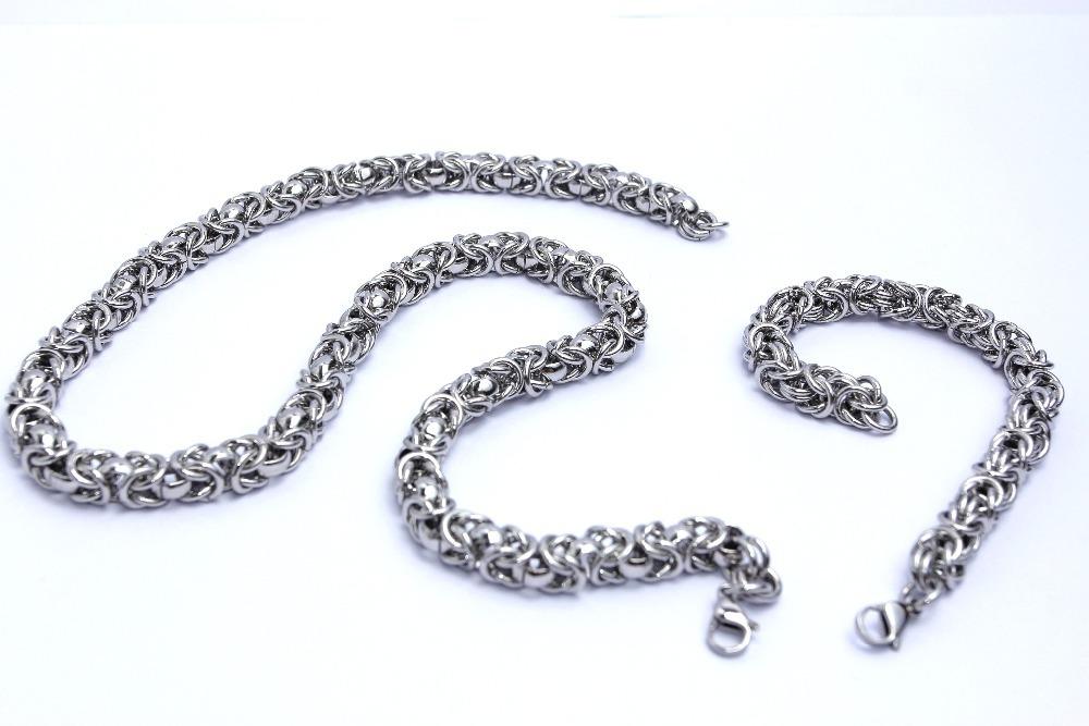 Мъжки ланец от неръждаема стомана.Бижута за мъже