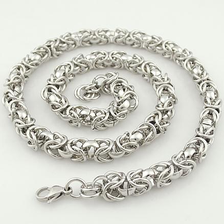Ланец от стомана -бижута