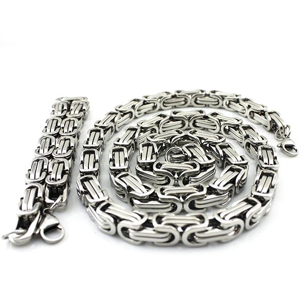Ланец и гривна от стомана-уникат