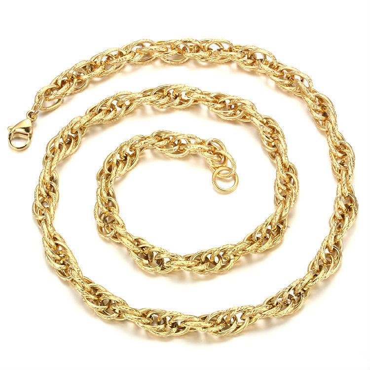 Подарък за нея-ланец от стомана-бижута