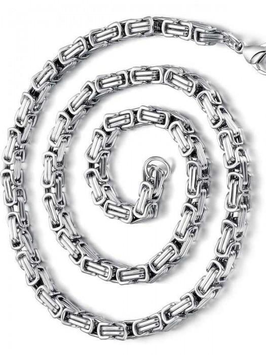 Моден ланец от стомана-бижута от стомана