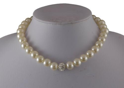 Бижута от перли.Огърлица от естесвени морски перли