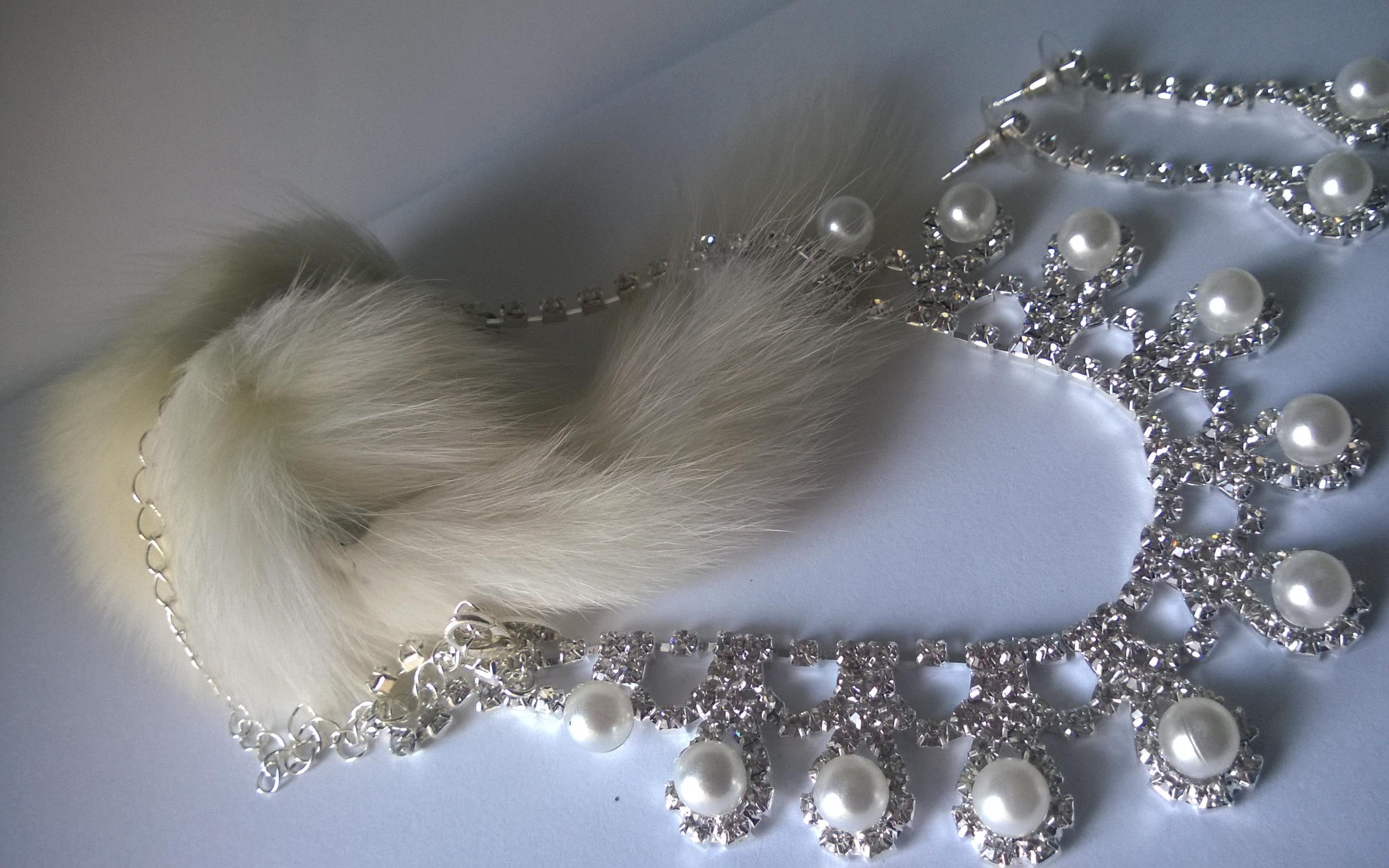 Бижута от перла и родий