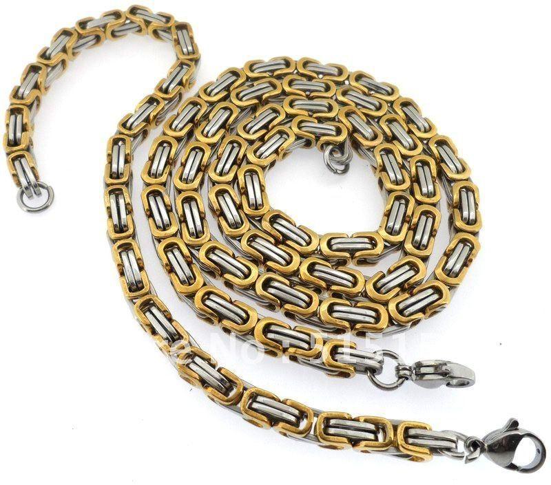 Мъжки ланец от стомана- К9