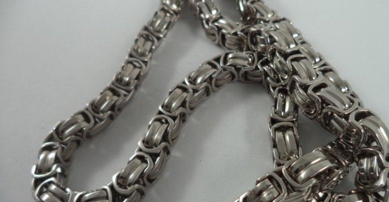Ланец от стомана бижута