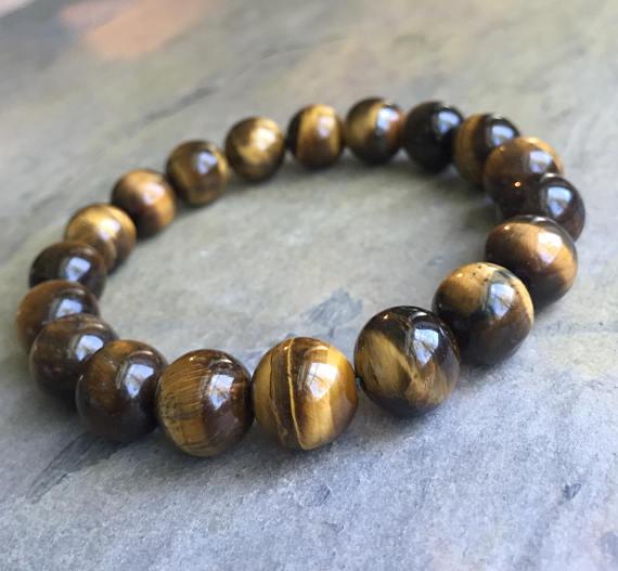 Бижута от полускъпоценни камъни-ТИГРОВО ОКО.С гаранция и сертификат