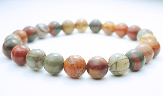 Бижута от полускъпоценни камъни-АХАТ