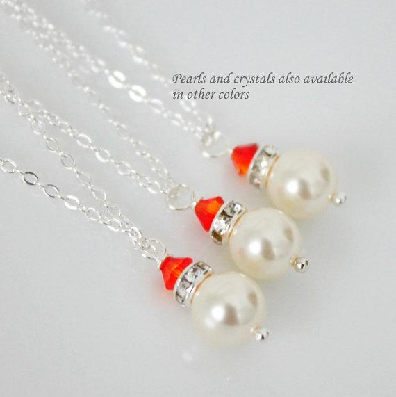 Бижута с перли.Колиета с естествени перли