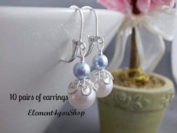 Обеци.Обеци от естествени перли от о-в Майорка.Бижута с перла.Перли бижута