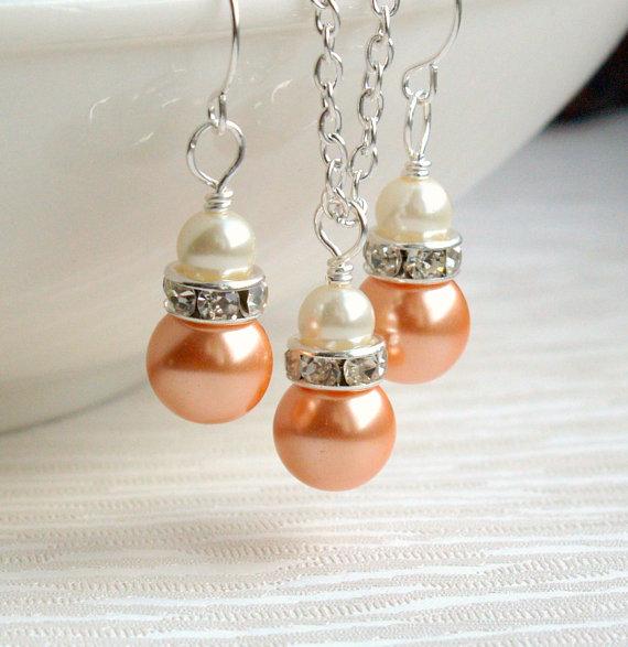 Колие,обеци и гривна от перли-естествени морски перли