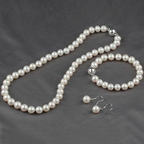 Бижута от естествени перли.Комплекти от перли.Бижута от перли.100% естествени перли