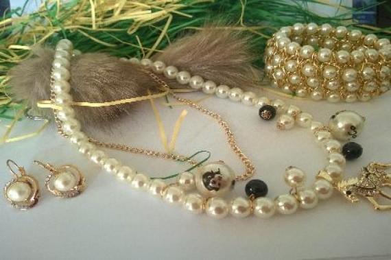 Уникат перли от о-в Майорка -бижута за жени