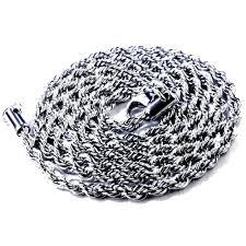 Бижута от стомана-подарък за нея или него-синджири